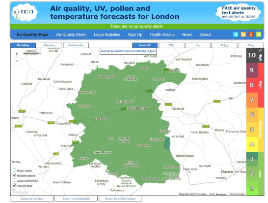 Photo for Sign Up to new Air Quality Health Alert Service