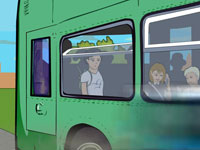 Bus graphic